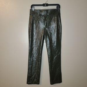 2/$45🔥 Zara Woman Patent Leather Like Pants